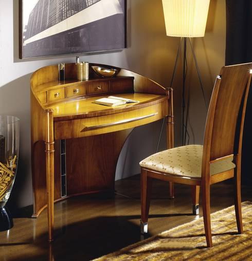 Mueble Escritorio Art Decó Atenas: Estudio de estilo  de Paco Escrivá Muebles