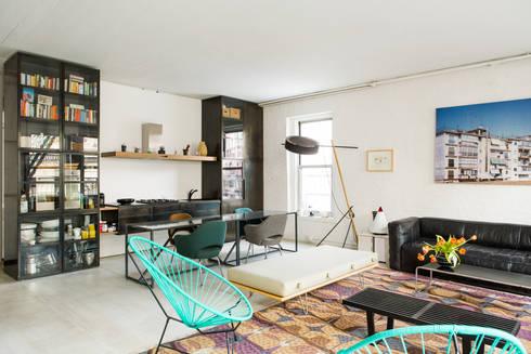 Loft on Grand Street, NY:  Houses by Labo Design Studio