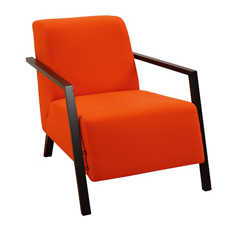 Sits Foxi Armchair: scandinavian Living room by Julia Jones Ltd