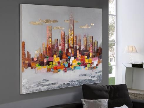 Cuadro Acrílico New York: Arte de estilo  de Ámbar Muebles