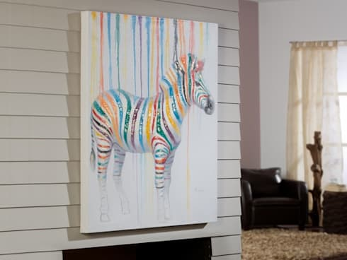 Cuadro Acrílico Cebra: Arte de estilo  de Ámbar Muebles