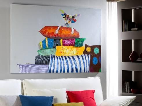 Cuadro Acrílico En la Cima: Arte de estilo  de Ámbar Muebles