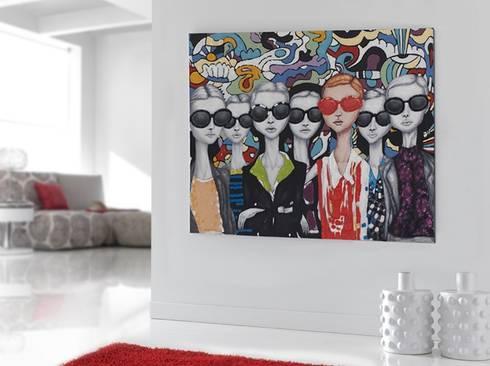 Cuadro Original Acrílico Be Cool: Arte de estilo  de Ámbar Muebles