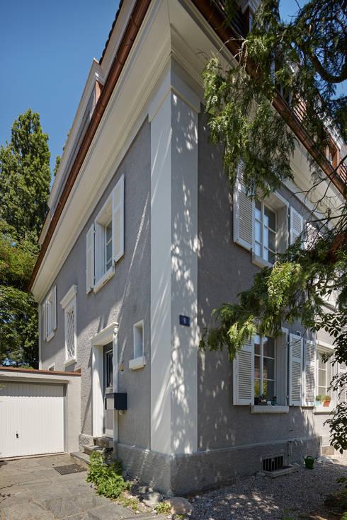 Dittingerstrasse, Basel: klassische Häuser von Handschin Schweighauser Architekten ETH SIA