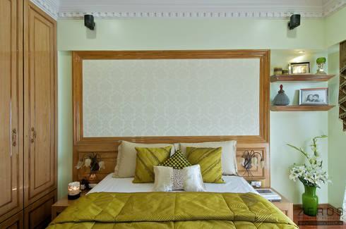 a classique  bedroom: classic Bedroom by ZERO9