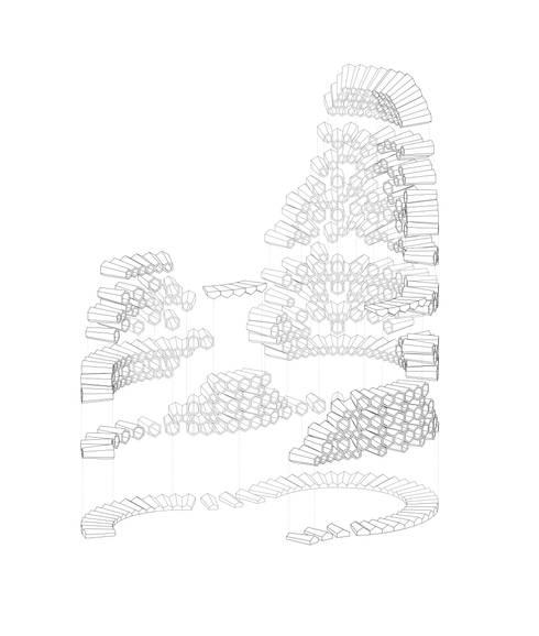 Hexacones: modern Garden by Architectural Designer and Maker