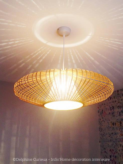 Suspension Birman Habitat: Bureau de style de style Moderne par INSO'HOME Décoration Intérieure