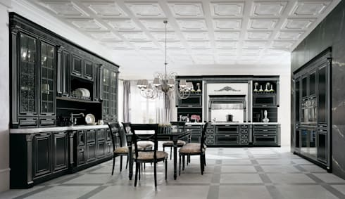 classic kitchen by siloma srl
