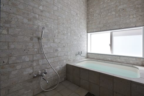 SHIRASU: ARAY Architectureが手掛けた浴室です。