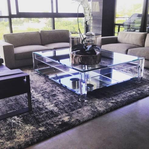 Salon De Style De Style Moderne Par FLAM RUGS