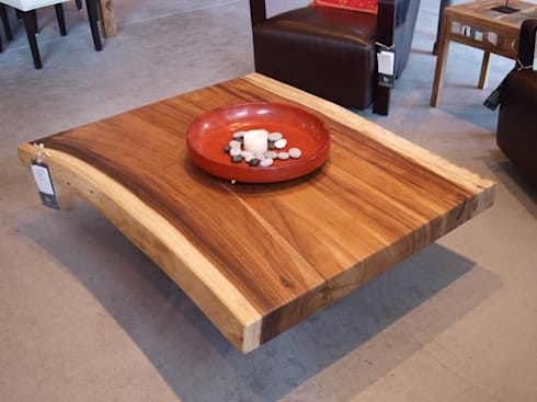 Coffee Table : Salas de estilo rústico por MAKE DESIGN