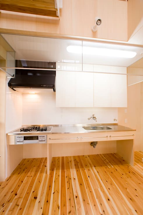 Cocina de estilo  de 松下建築設計 一級建築士事務所/Matsushita Architects