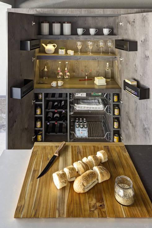 مطبخ تنفيذ Eos México