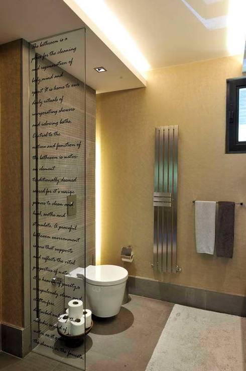 EK HOUSE SAKLIKORU: modern Bathroom by Esra Kazmirci Mimarlik