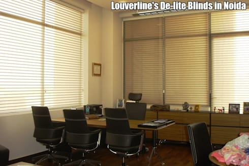 Sheer Delite Shades / Blinds in India:   by Louverline Blinds