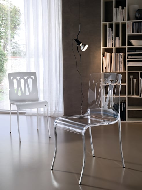 modern Dining room by Ciacci
