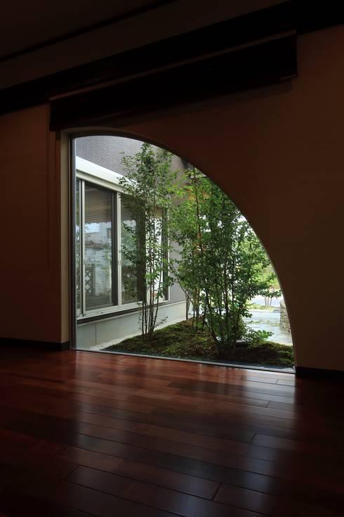 Projekty,  Okna zaprojektowane przez やまぐち建築設計室