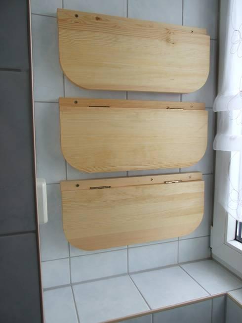 Baños de estilo  de Tischlerei Birke