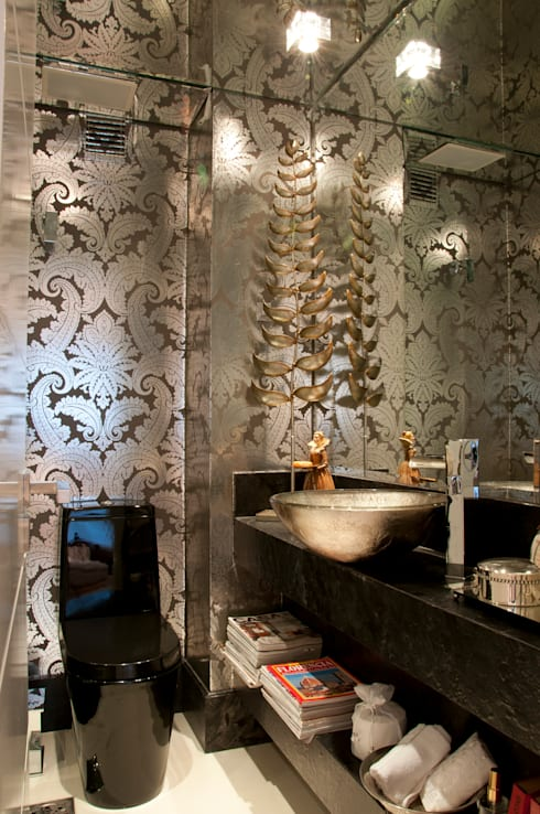 Cliente G: Banheiros  por Link Interiores