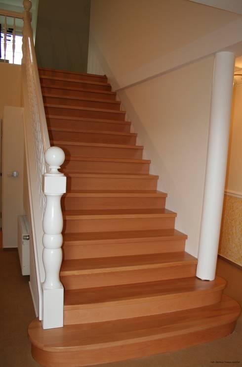 Treppe nachher:   von falk-raum-design-systeme