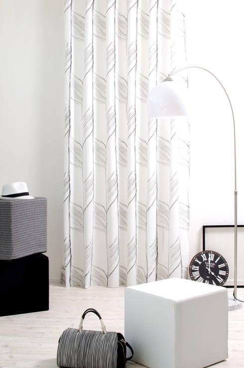 Zag 7087-35:  Wohnzimmer von Indes Fuggerhaus Textil GmbH