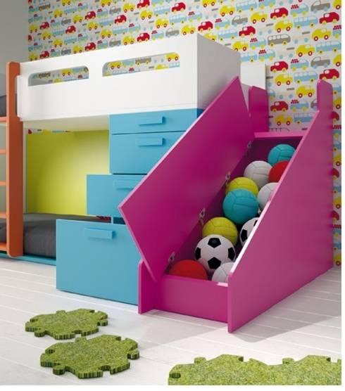Juvenil: Habitaciones infantiles de estilo  de Mueblalia