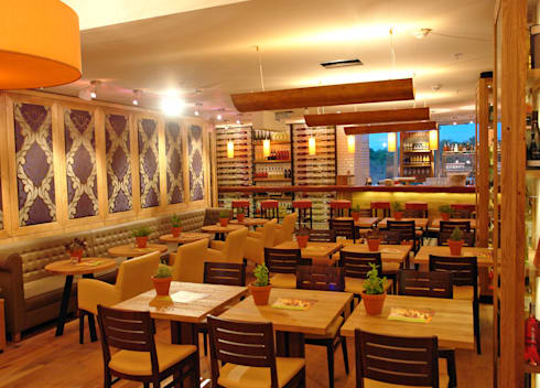 alex restaurant the squaire von p m furniture homify. Black Bedroom Furniture Sets. Home Design Ideas