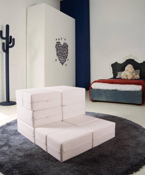 KUBOLETTO: Soggiorno in stile  di Milano Bedding