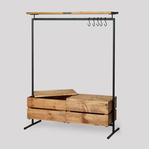 kleiderst nder von noodles noodles noodles corp homify. Black Bedroom Furniture Sets. Home Design Ideas