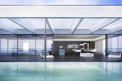 luxus apartment new york von homify. Black Bedroom Furniture Sets. Home Design Ideas