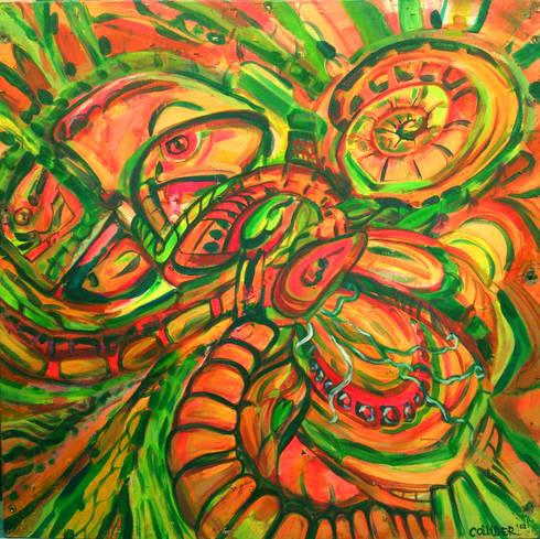 Jungle:  Artwork by Victoria Zukovska