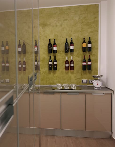 Wine cellar by marco olivo
