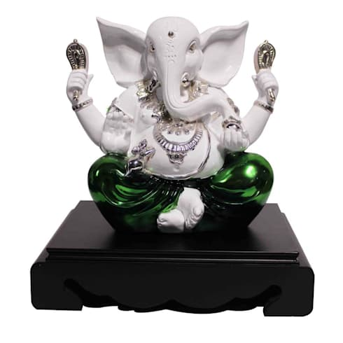 Religious Hindu God Ganesha Idol:  Artwork by M4design