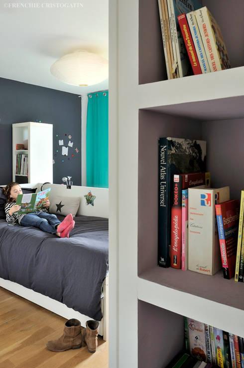 Projekty, minimalistyczne Domy zaprojektowane przez Carole Guyon architecte