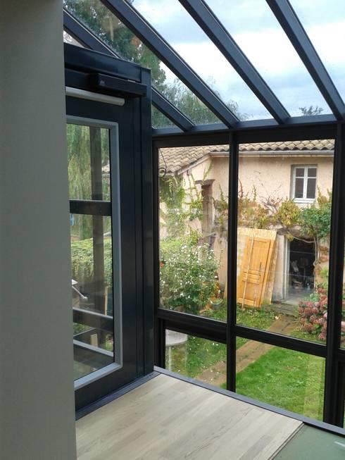 maison ossature m tallique par carole guyon architecte homify. Black Bedroom Furniture Sets. Home Design Ideas