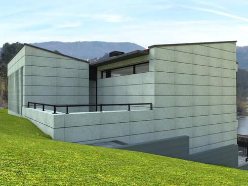 VIVIENDA UNIFAMILIAR EN COLES:  de estilo  de arquitectura SEN MÁIS
