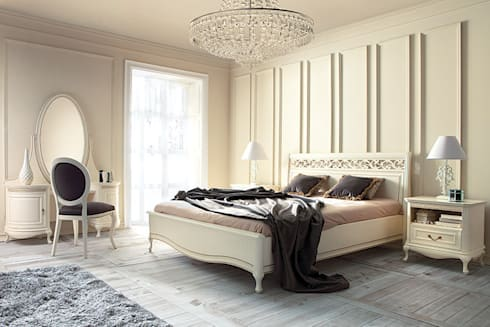 Bed AP/N: classic Bedroom by Royz Furniture