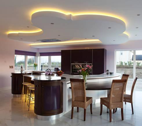 Contemporay Kitchen Ireland: modern Kitchen by Designer Kitchen by Morgan