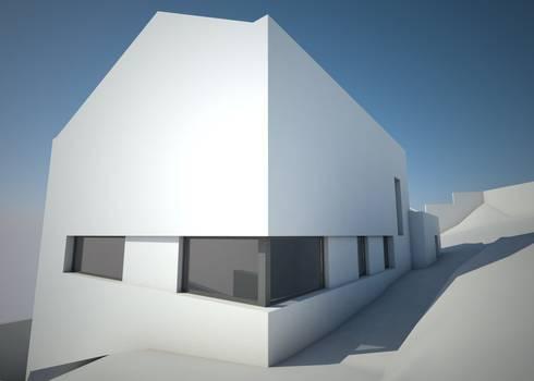 VIVIENDA UNIFAMILIAR EN A BARXA:  de estilo  de arquitectura SEN MÁIS