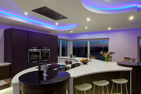 Contemporary Kitchen Ireland: modern Kitchen by Designer Kitchen by Morgan