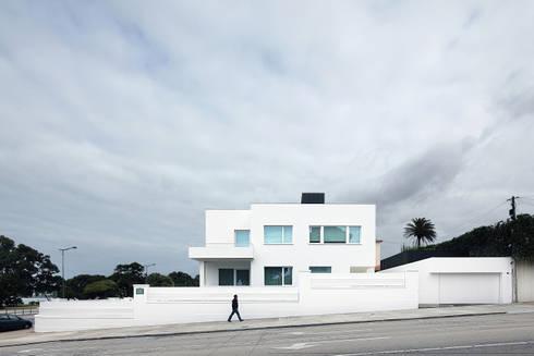 Casa José Prata: Casas modernas por Barbosa & Guimarães, Lda.