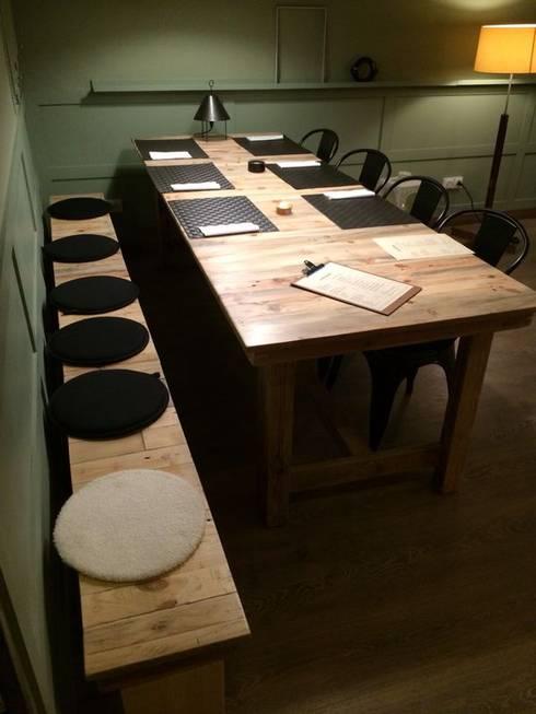 غرفة السفرة تنفيذ el atelier del arte-sano