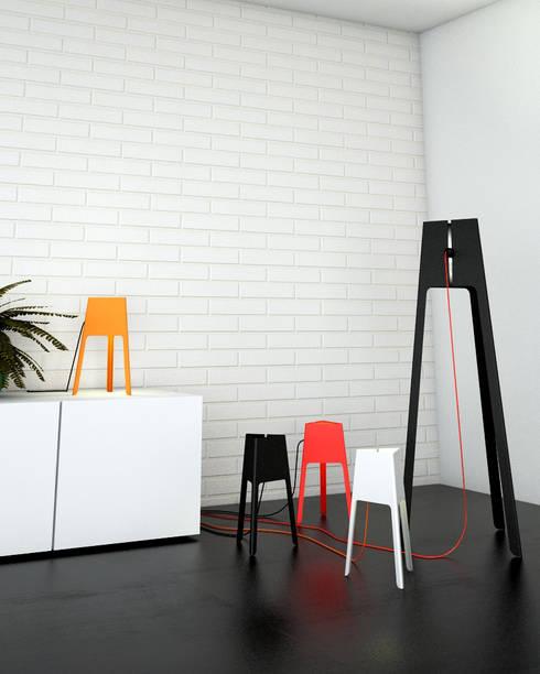 Ensemble Modo: Salon de style de style Moderne par Nicolas Ghilissen