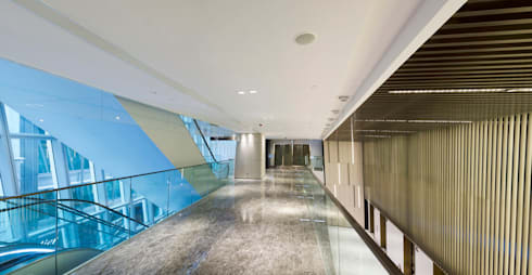 LHT Tower:  Office spaces & stores  by Rocco Design Architects Limited
