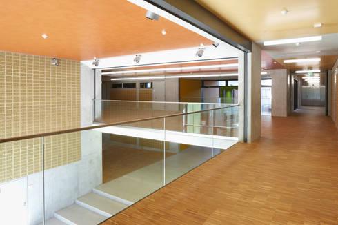 umbau und erweiterung der ludwig b rne schule von dbn blume nasedy architekten bda homify. Black Bedroom Furniture Sets. Home Design Ideas