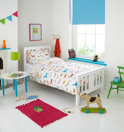 """Chumley"" Children's Bedding: eclectic Nursery/kid's room by Dandylion Designs"