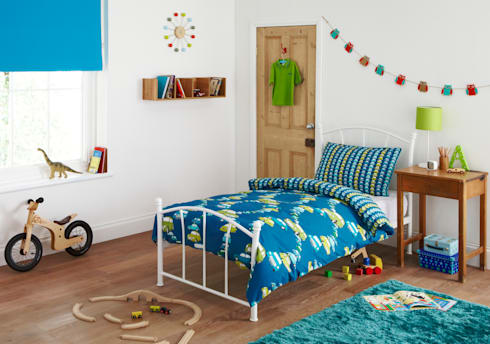"""Aryton"" Children's Bedding: eclectic Nursery/kid's room by Dandylion Designs"