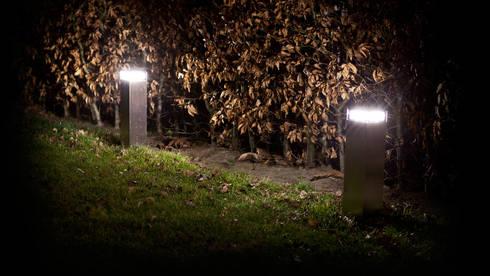 Lámparas o valizas Catwalk nº 2: Jardín de estilo  de Gacoli