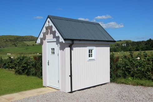 Two Bedroom Wee House Shed:   by The Wee House Company