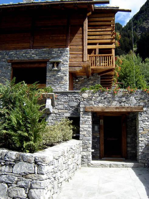 Casas de estilo  por Alessandra Bonanni Studio